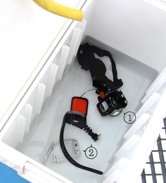 On rince les ordinateurs à l'eau douce